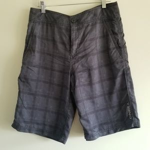 Oneill board shorts.
